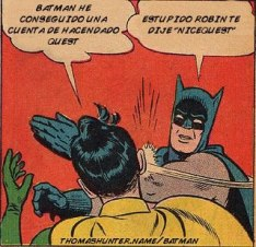 Comic Batman y Robin