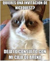 Concurso Nicequest: Gato Grumpy por Leslie Mirelle