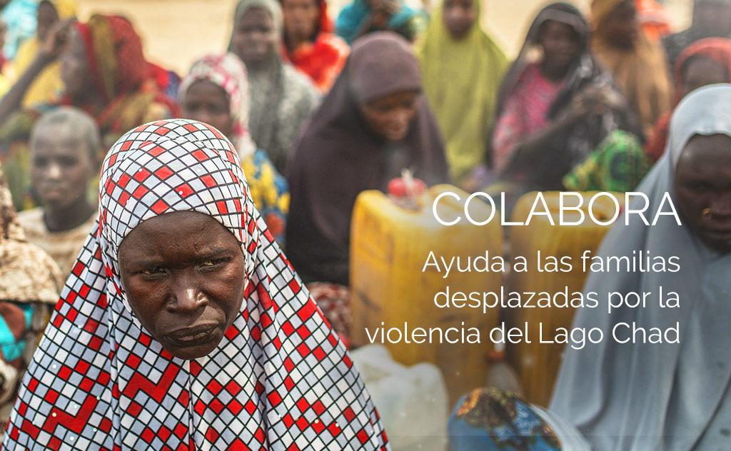 Donación Lago Chad Intermon Oxfam Nicequest